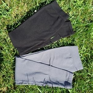 Fleece Lined Legging Tights Bundle of Two